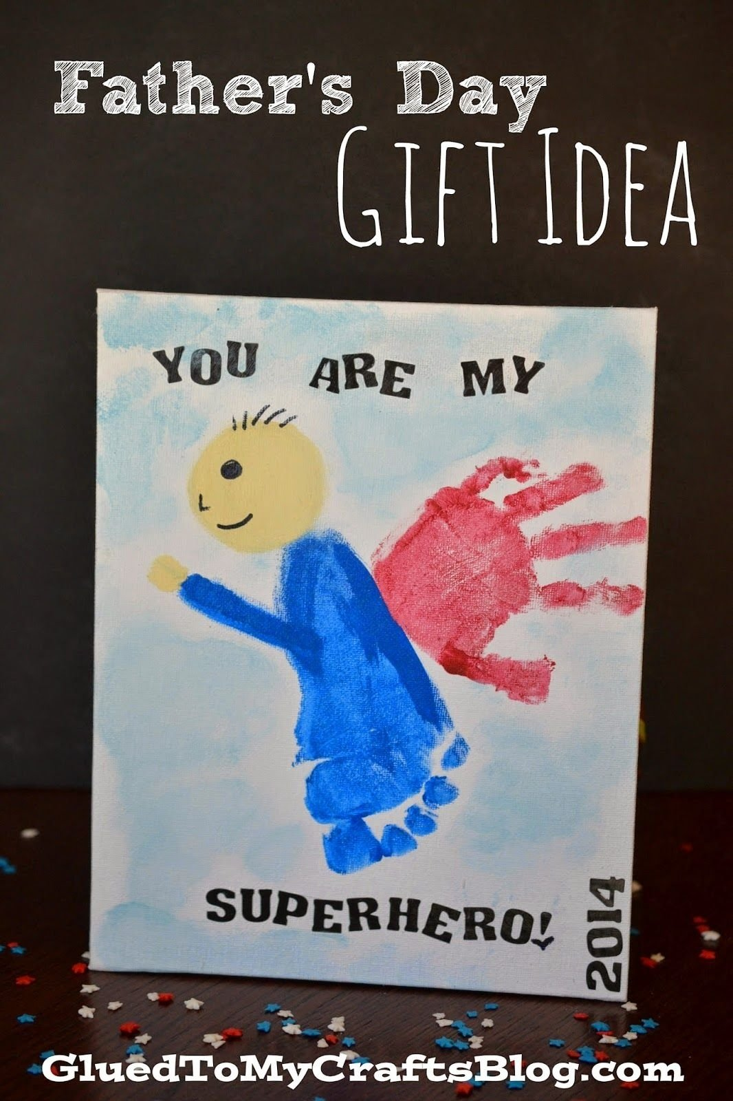 10 Fabulous Gift Ideas For Dad From Son you are my superhero fathers day gift idea superhero craft and gift 2