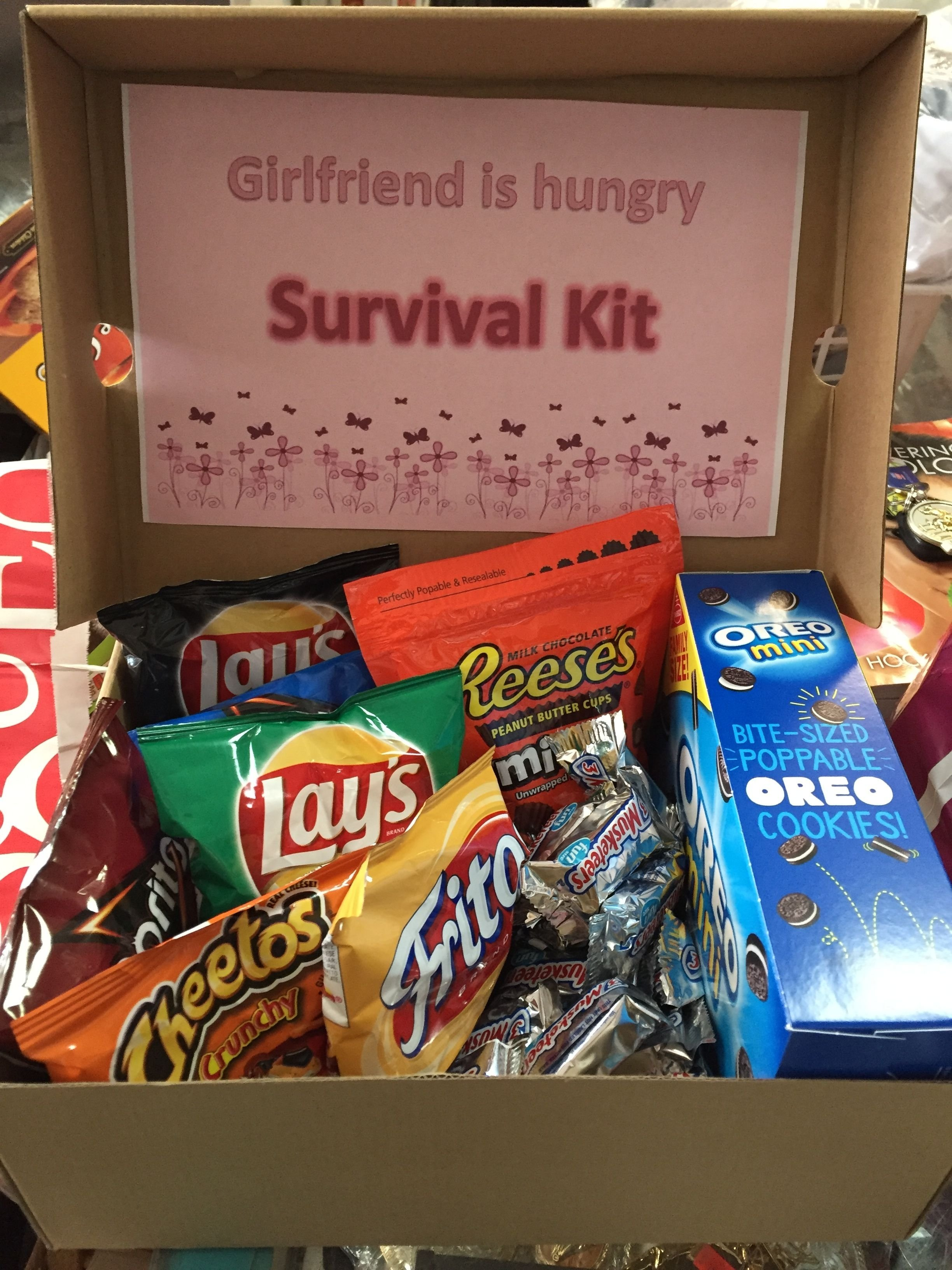 10 Cute Birthday Gift Idea For Girlfriend you can keep this girlfriend survival kit in your car for whenever 4