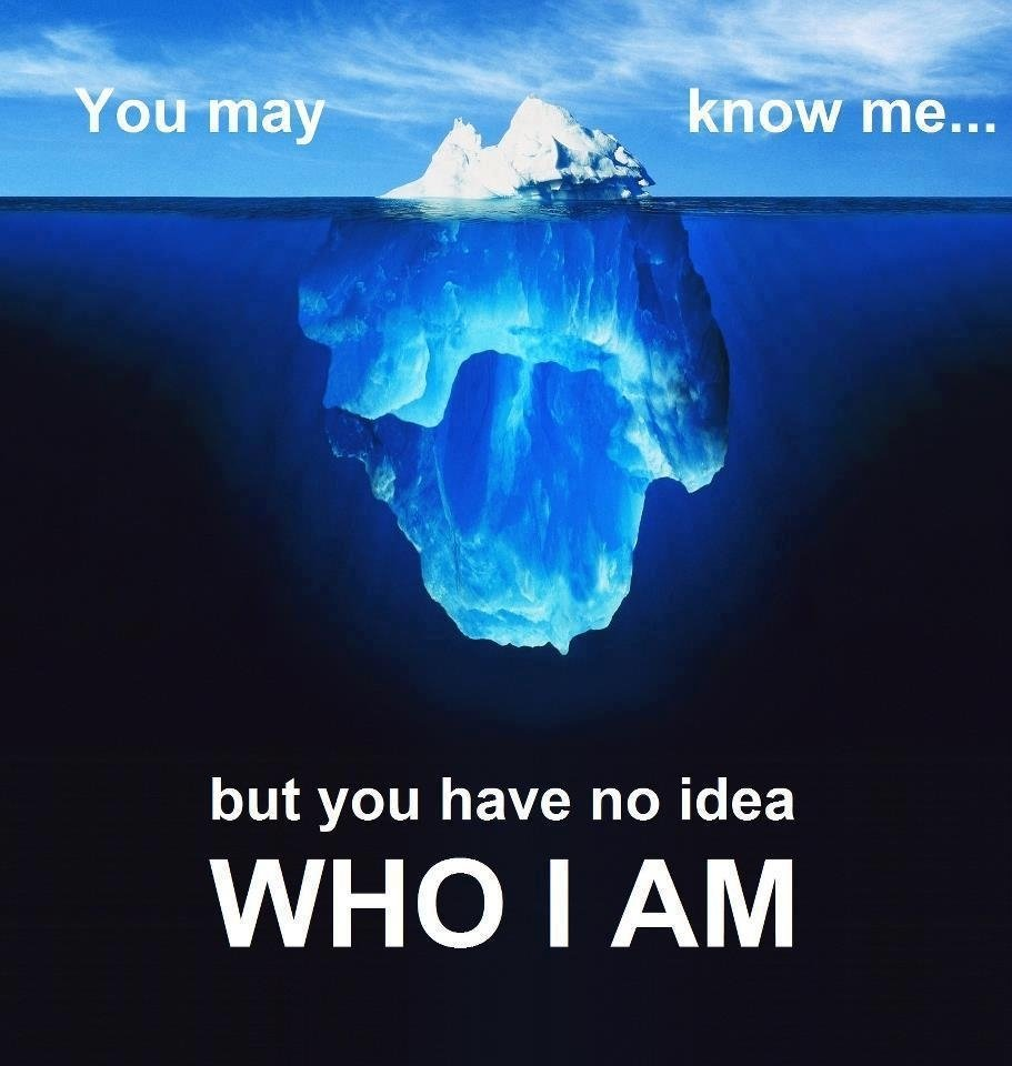 you may know me but you have no idea who i am - motivational reads