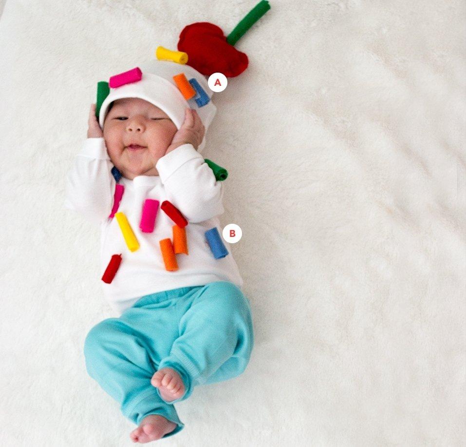 10 Gorgeous Homemade Infant Halloween Costume Ideas