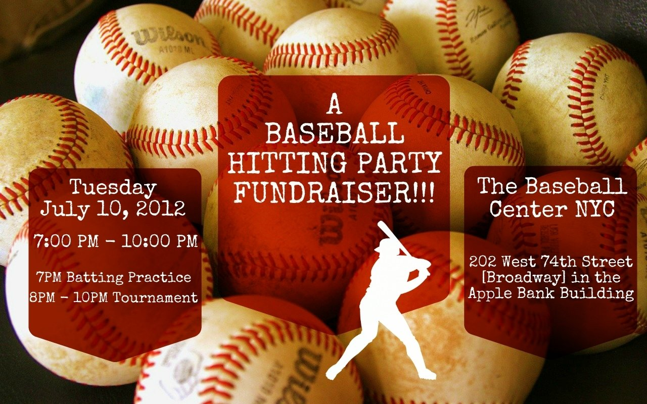 10 Cute Fundraising Ideas For Baseball Teams youre invited to a baseball hitting fundraiser and all star 2020