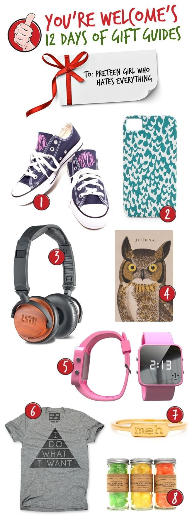 10 Stylish Christmas Gift Ideas For Teenagers 2013 youre welcome 12 days of gift guides gifts for the pre teen