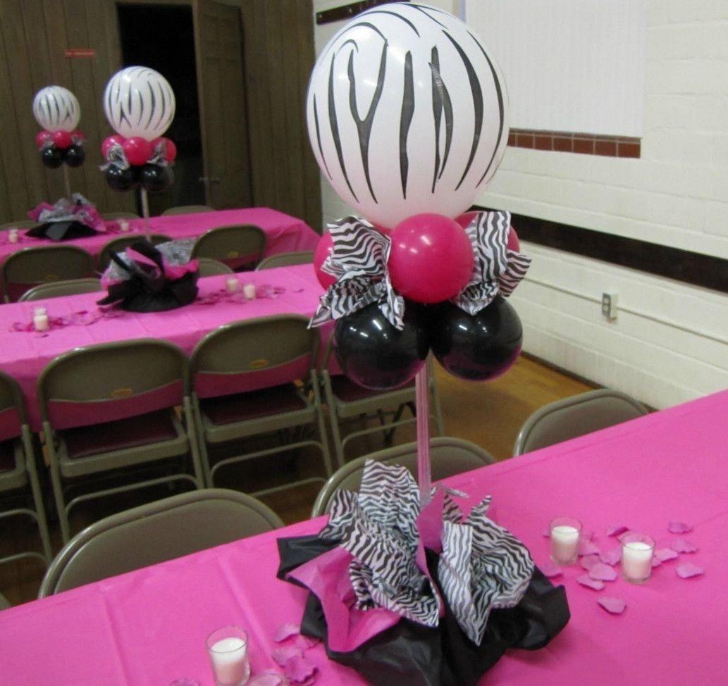 zebra baby shower centerpieces ideas … | pinteres…