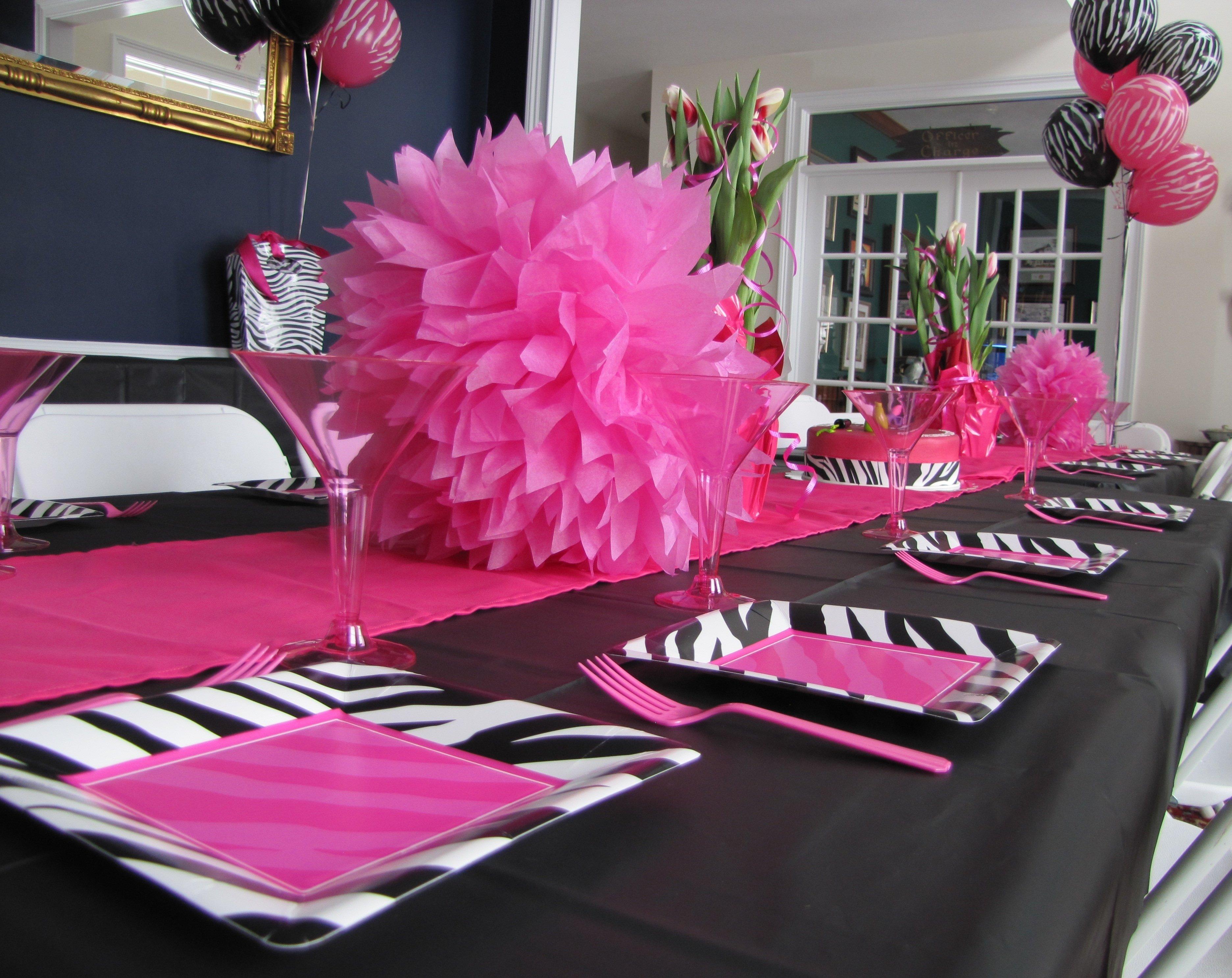 10 Spectacular Zebra Print Party Decoration Ideas zebra print party supplies and decorations zebra print party 2021