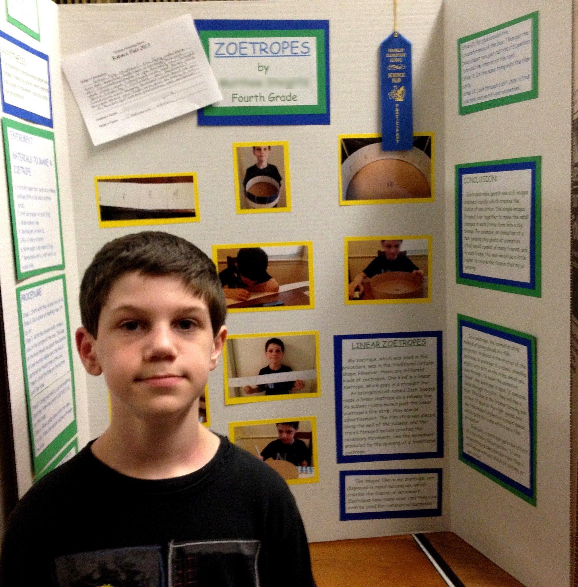 10 Great Science Fair Ideas 4Th Grade zoetropes in a fourth grade science fair joshua spodek 1