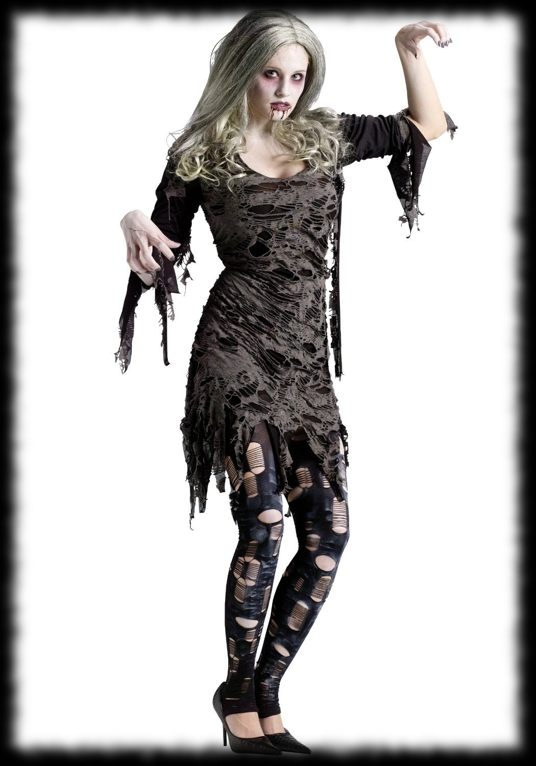 10 Amazing Zombie Costume Ideas For Girls zombie party ideas for halloween braiiiiiinnnnnsssss