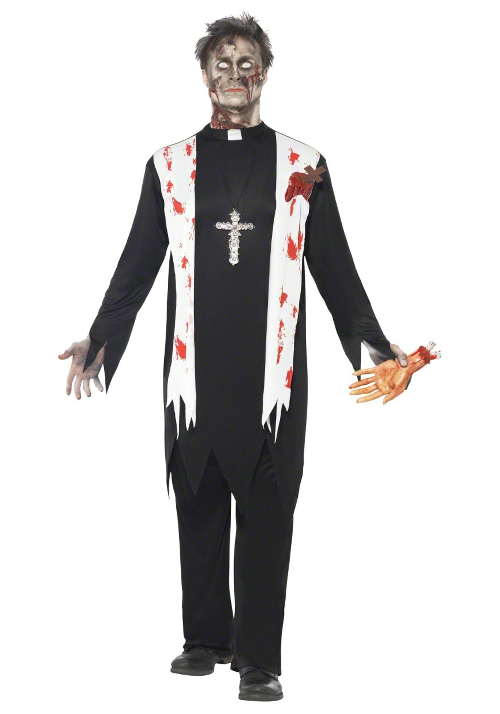 10 Fashionable Zombie Costume Ideas For Men zombie priest costume 1 2020