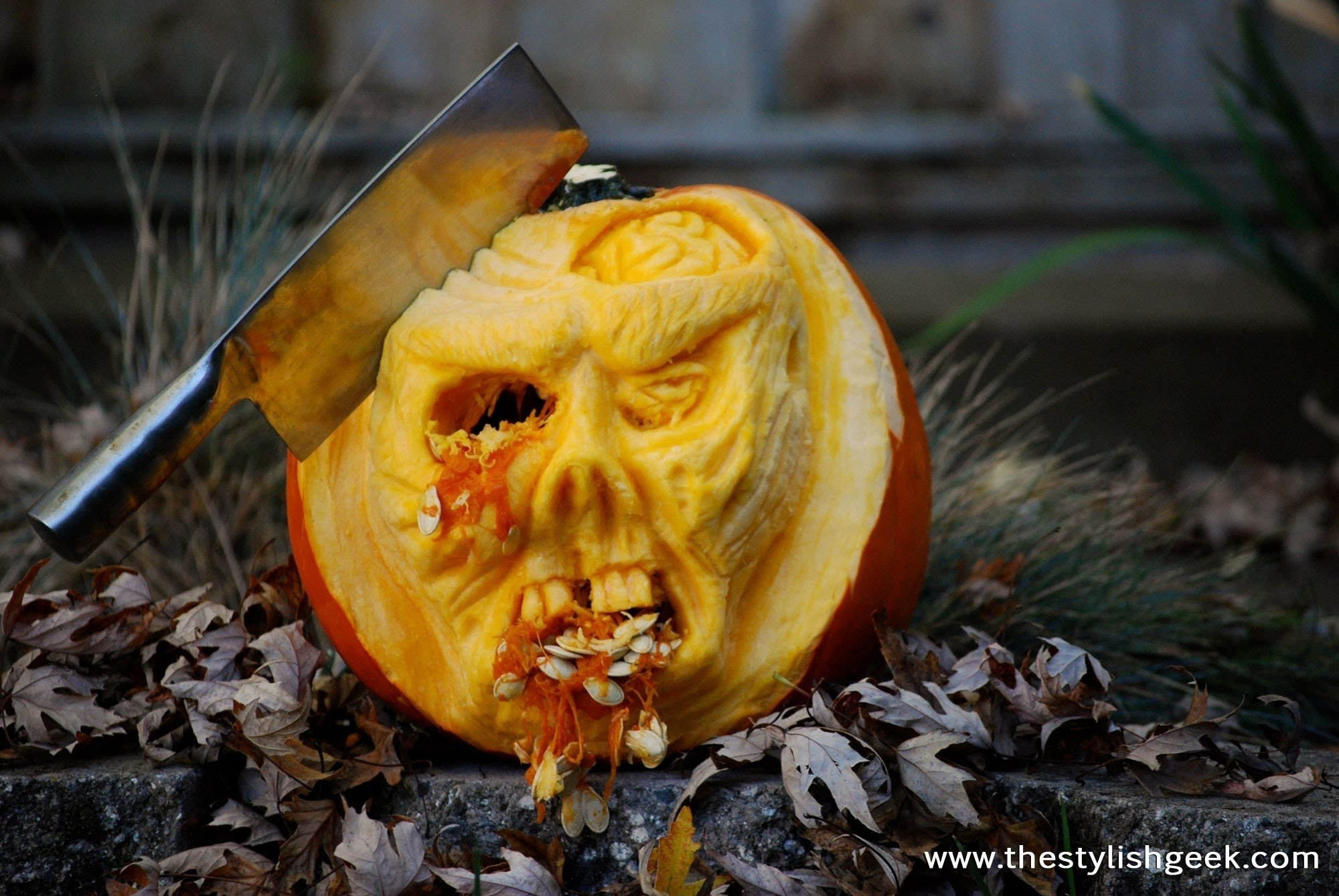 10 Great Good Ideas For Pumpkin Carving zombie pumpkin speed carving tutorial youtube 2021