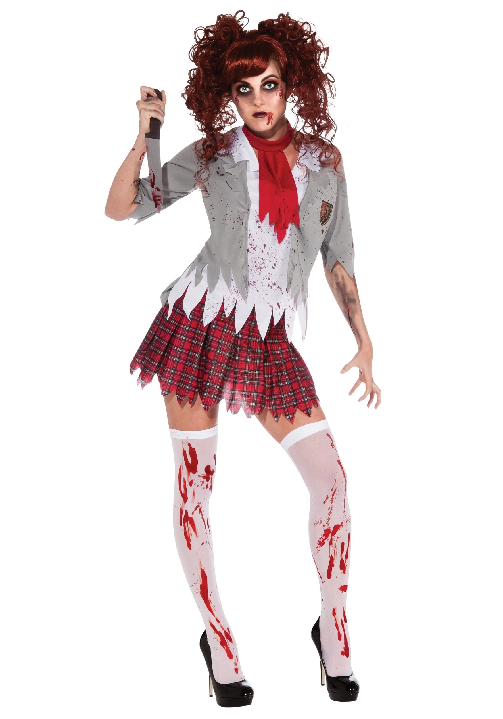 10 Amazing Zombie Costume Ideas For Girls zombie school girl costume
