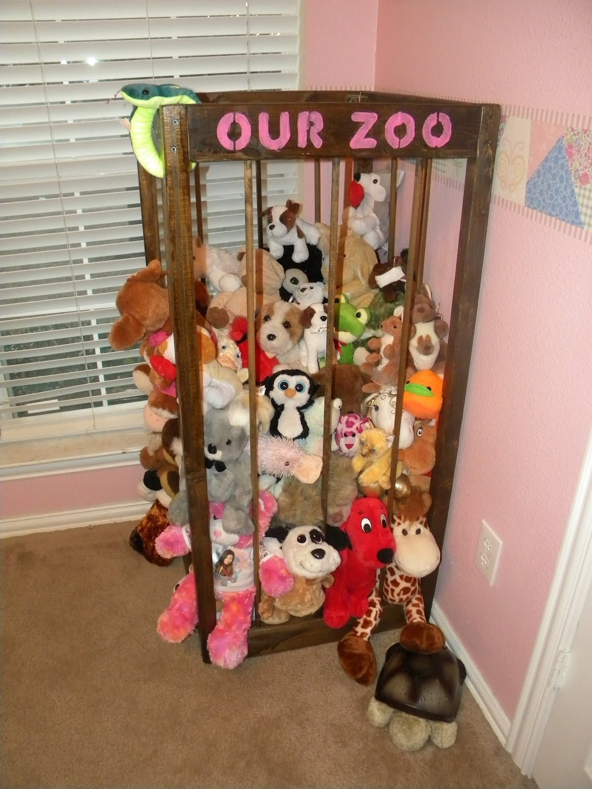 10 Spectacular Ideas For Stuffed Animal Storage zoo great idea for stuffed animal storage fun things to do for my 1 2021