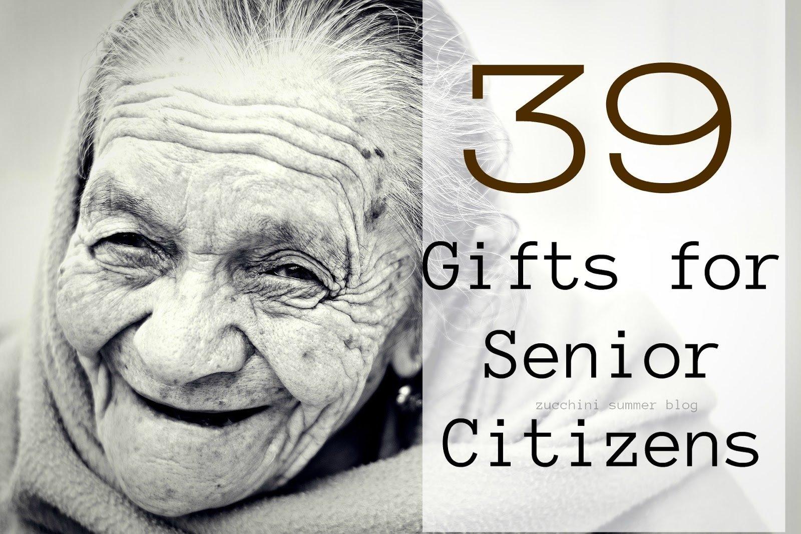 10 Pretty Gift Ideas For Senior Citizens zucchini summer gifts for senior citizens 2021